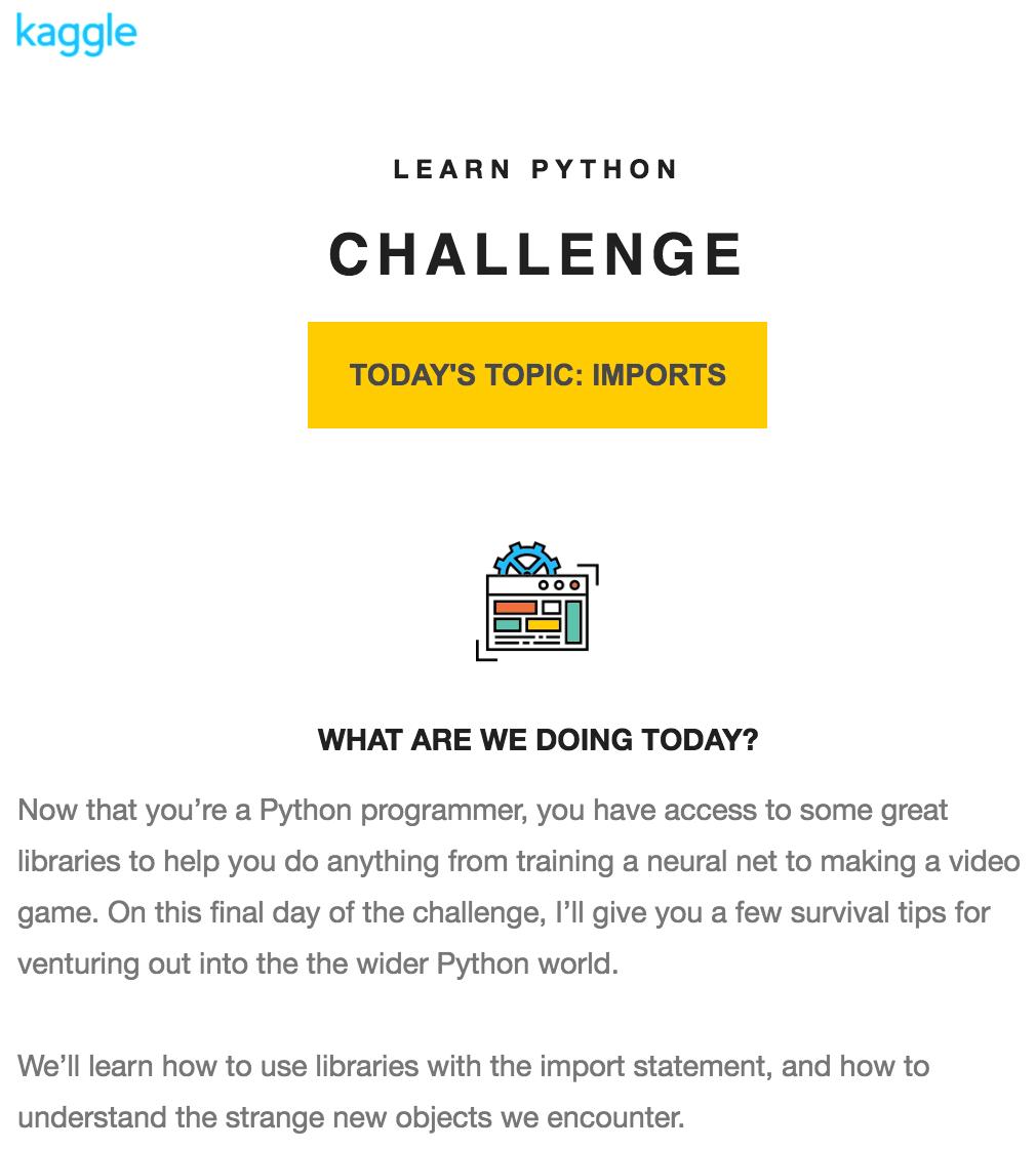 Kaggle 學習 Python 挑戰:第七天. 模組 imports | by Yao-Jen Kuo | Pyradise | Medium