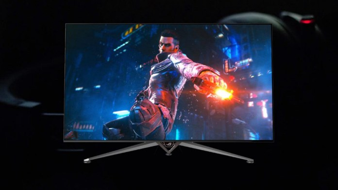ASUS Swift PG65UQ gaming monitor launches with 65-inch G-Sync tech