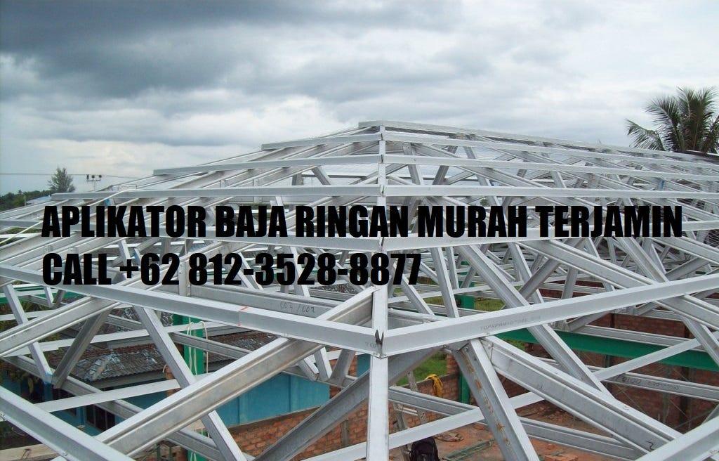 harga rangka atap baja ringan di malang termurah call 62 812 3528 8877 rumah