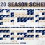 Brewers Announce 2020 Regular Season Schedule Cait