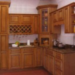 Organize Your Kitchen With High Gloss Corner Wall Cabinet
