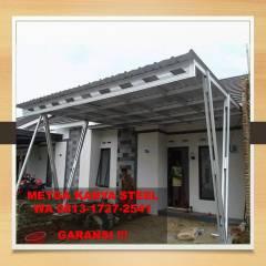 Contoh Kanopi Baja Ringan Atap Spandek Terbaik Wa 62 813 1727 2541 Model Tangerang