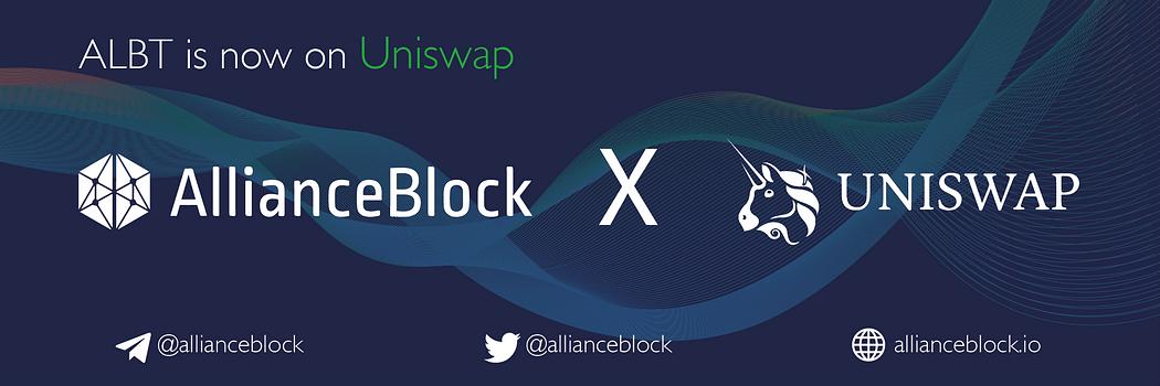 AllianceBlock Uniswap