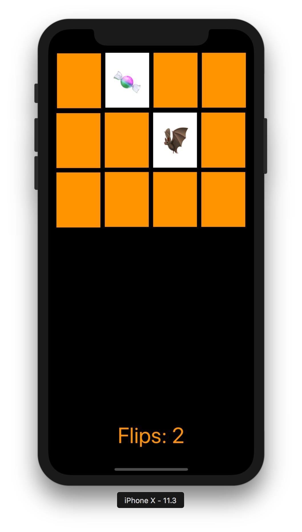 #59 製作 Stanford iOS 課程裡提到的翻牌記憶遊戲,Concentration App   by 彼得潘的 iOS App Neverland   彼得潘的 100 道 Swift ...