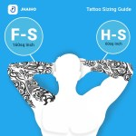 The Jhaiho Tattoo Sizing Guide Tattoo Sizes Knowing What You Want By Jhaiho Medium