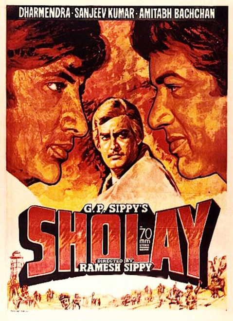 Sholay (1975) Hindi Full Movie 480p | 720p