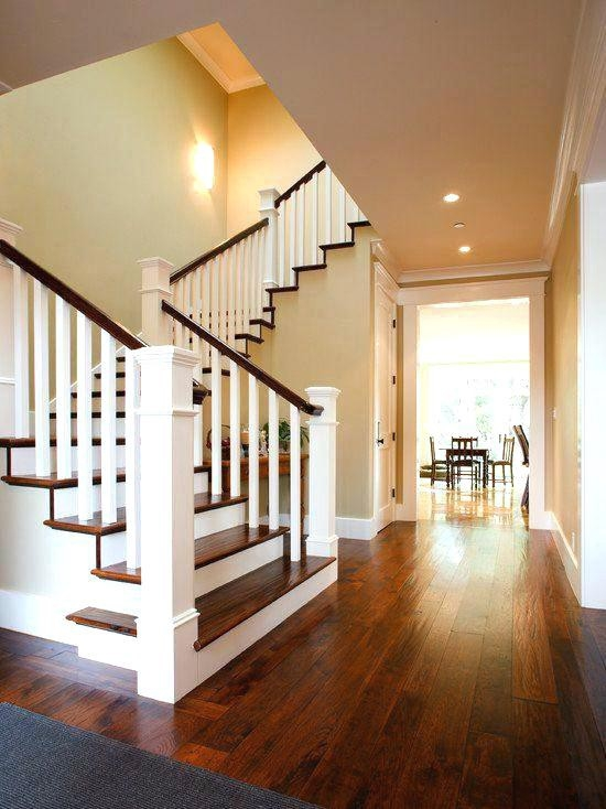 Modern Wood Stair Railing By Putra Sulung Medium | Modern Wood Staircase Railing | Interior | Stylish | Wall Mounted | Contemporary | House