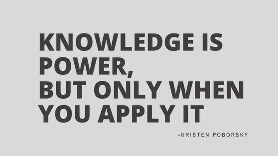 entrepreneur mindset knowledge is
