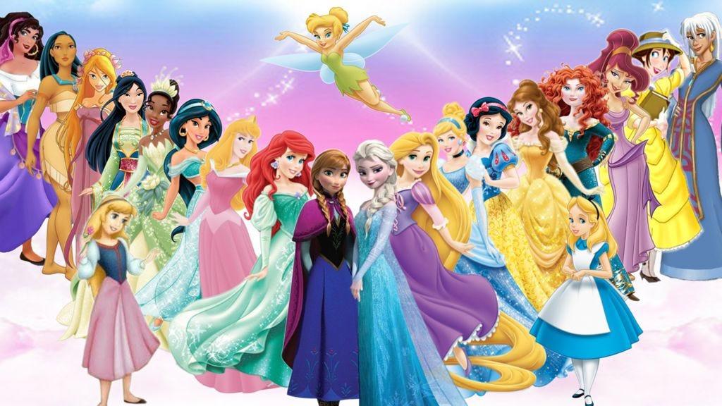 disney princess movie gender
