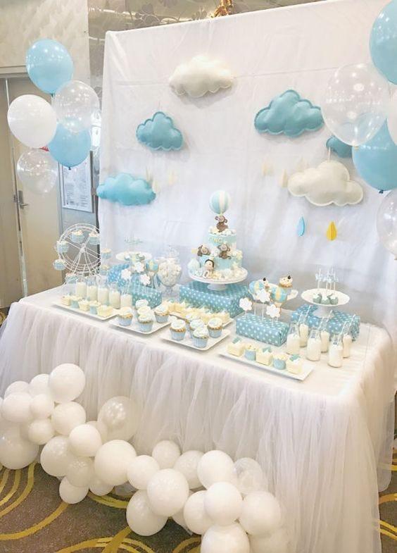Decoracion De Mesa Para Baby Shower Ni�a : decoracion, shower, Decoración, Globos, Shower, Party, Medium