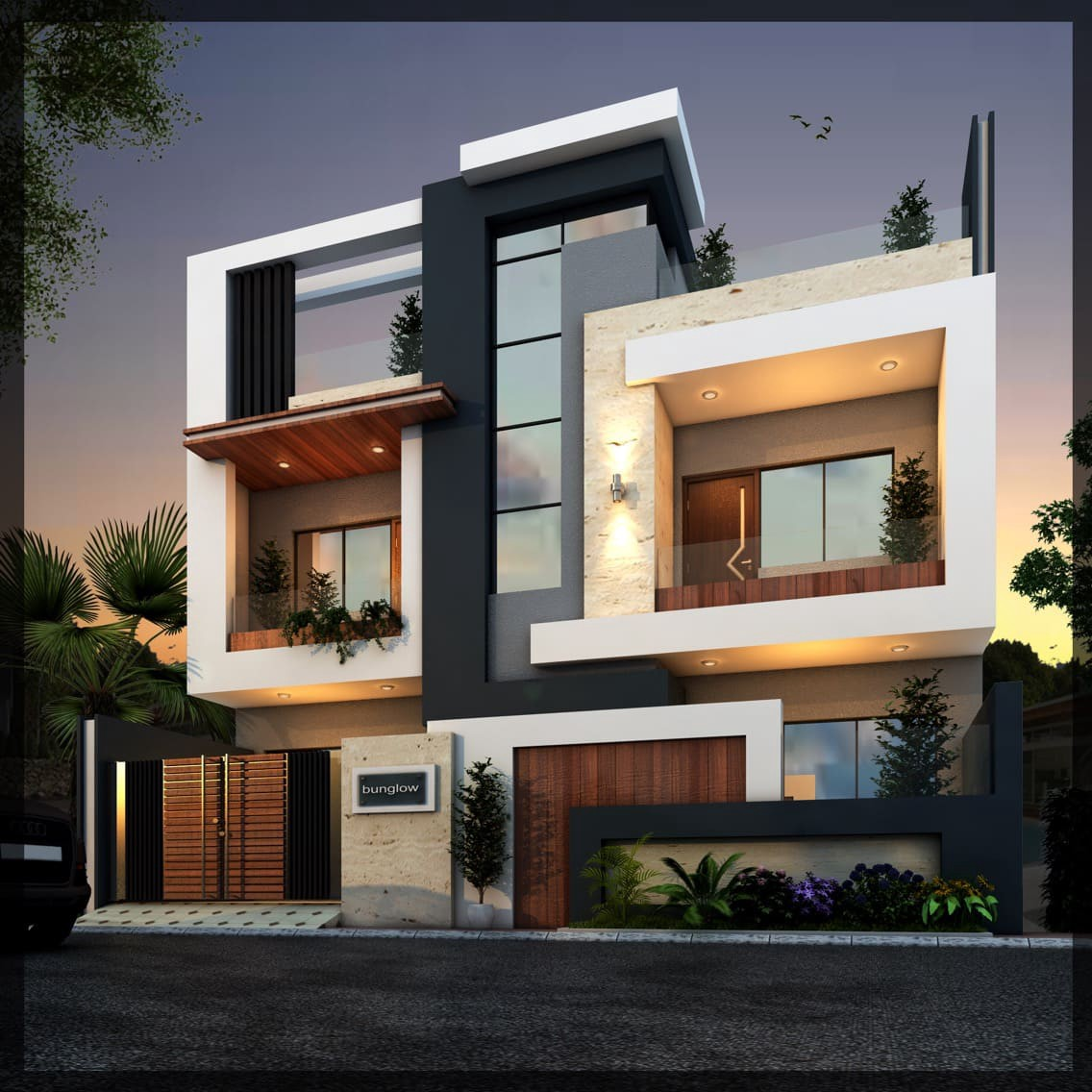 Best Modern House - Best Modern House Elevation | Latest ...