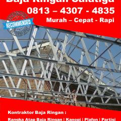 Renovasi Atap Baja Ringan Rumah Tipe 36 Harga Murah 0813 4307 4835 Biaya Type