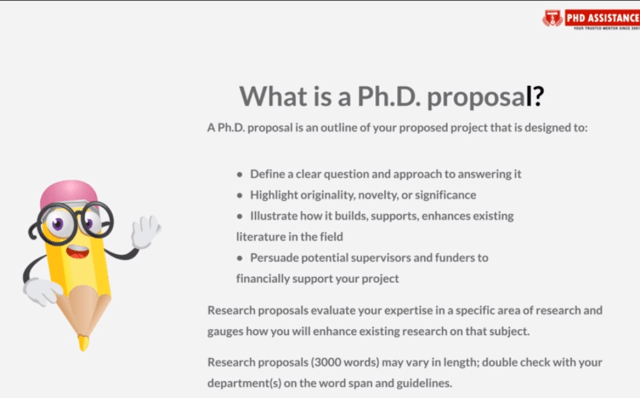 How to Write a Successful PhD Research Proposal — PhD Assistance