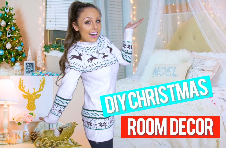 Diy Holiday Room Decor Easy Diy Christmas Decorations By Kristi Anne Beil Medium