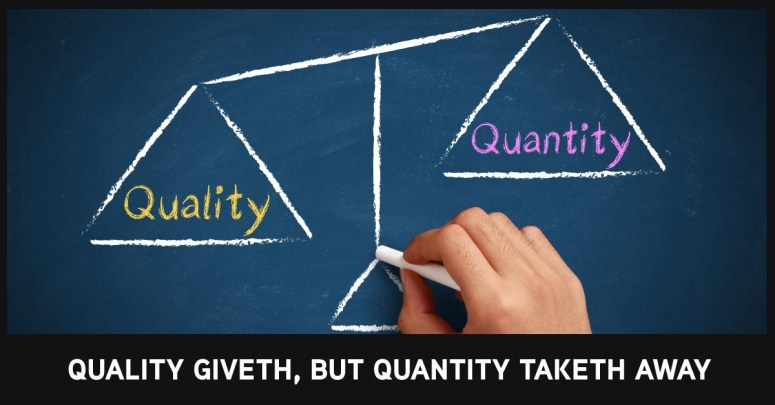 Why Food Quantity Matters More than Quality - Avatar Nutrition ...