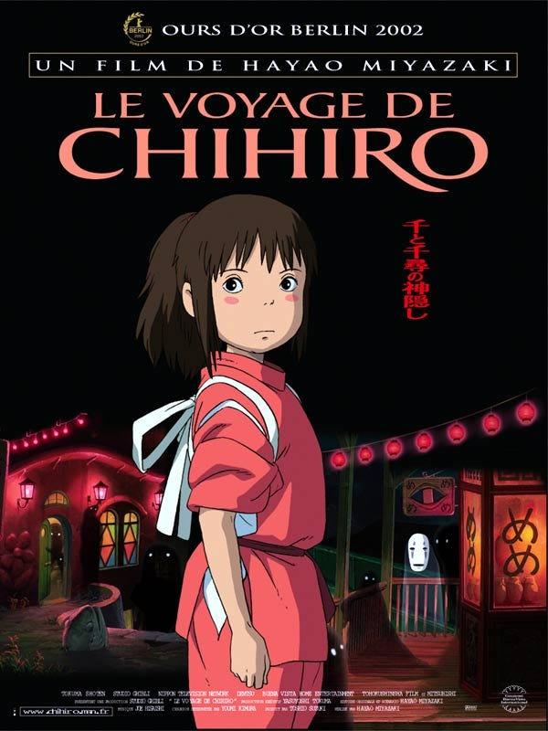 Le Voyage de Chihiro Film D'animation Complet En Francais