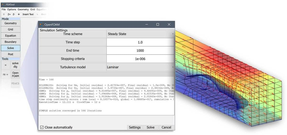 FEATool 1.8 Released with OpenFOAM MATLAB CFD Solver and GUI Interface | by Precise Simulation | Multiphysics | Medium