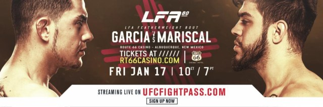 Image result for LFA 80 - Garcia vs. Mariscal