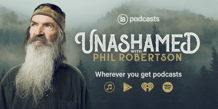 Phil Robertson Says People All Over the U.S. Who Listen to His Podcast Travel to Louisiana to be Baptized by Him