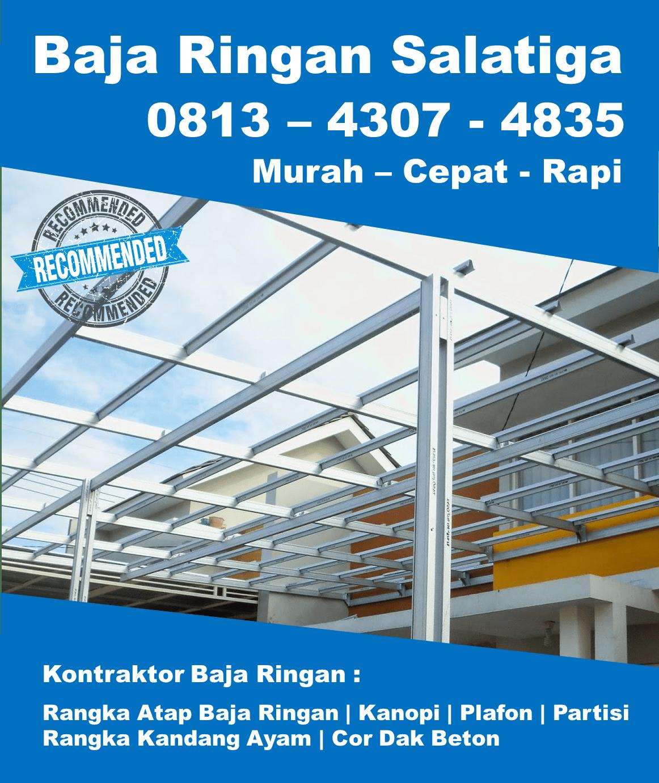 harga atap baja ringan untuk kanopi terpercaya 0813 4307 4835 salatiga