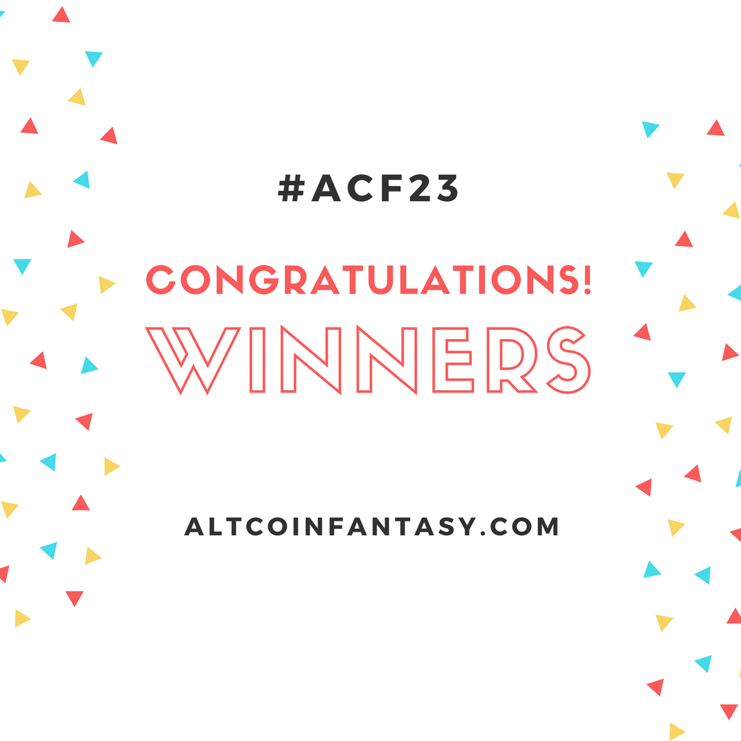 winners of acf23 altcoin