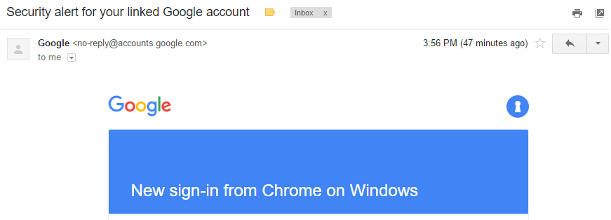worried someone is accessing