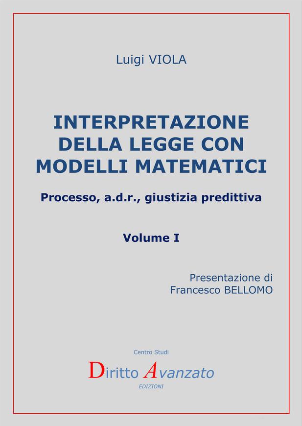 Interpretazione Della Legge Con Modelli Matematici Un