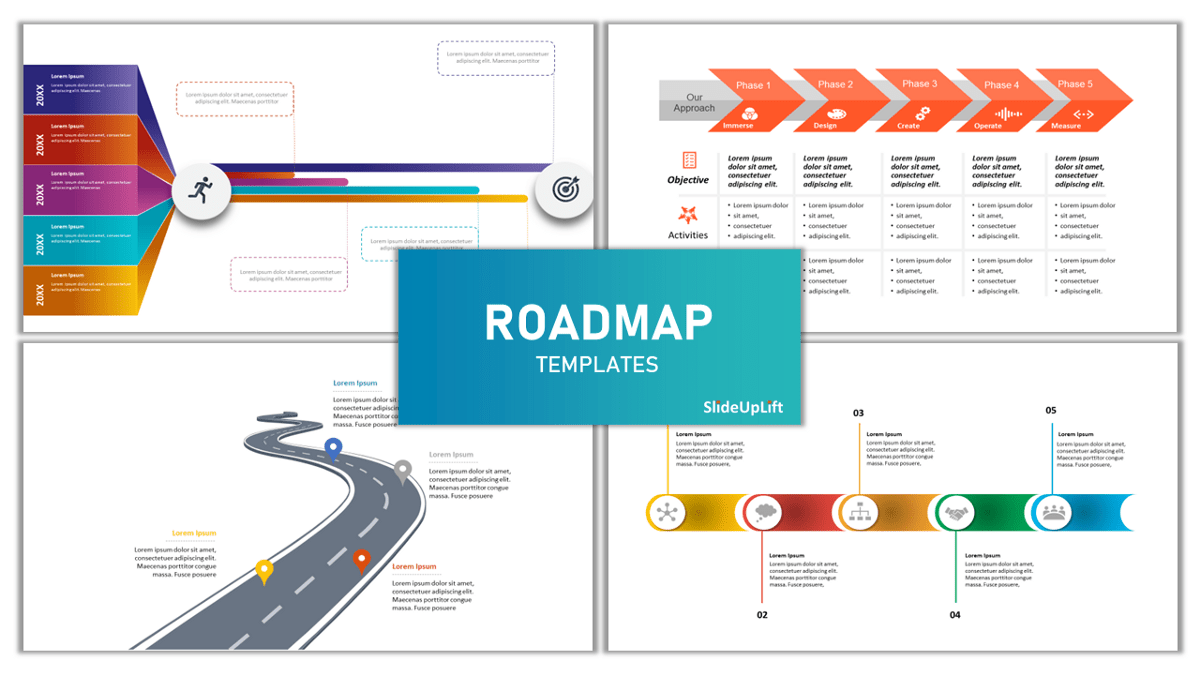 Perfect Roadmap Template collection to build your 2020 strategy! | by SlideUpLift | Medium