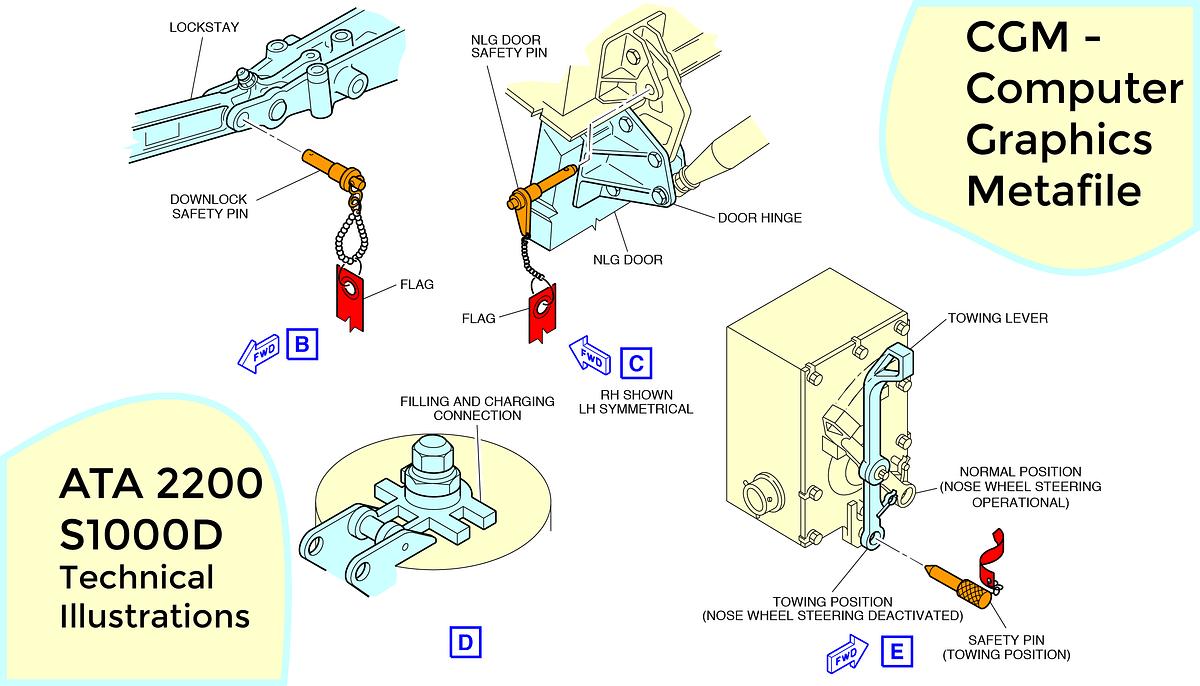 hight resolution of basic computer diagram illustration