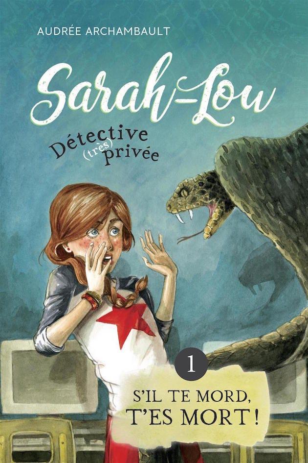 Lou Je N'ai Rien Fait : Sarah-Lou, Moins, Jeune, Enquêtrice, Recrue, Medium