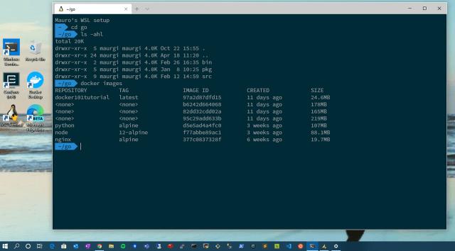 Running Ubuntu on Windows 288 with WSL28  by Mauro Giusti  Medium