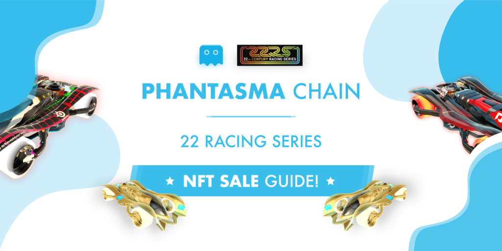 The first NFT sale on Phantasma is live!   Purchase your @22RacingSeries NFTs by... 10
