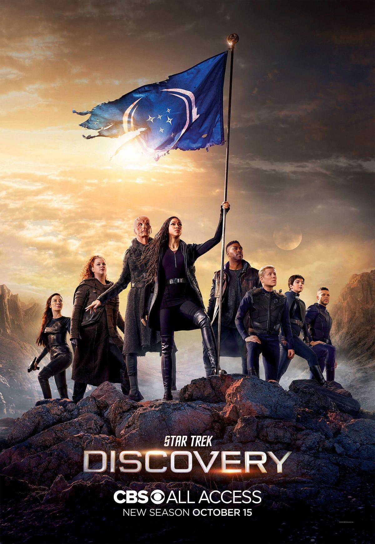 "Star Trek Discovery Saison 1 : discovery, saison, S03/E08, Trek:, Discovery, Series, Episode, ""Episodes"", Stephen, Witham, ""3x8"", (2020), Access, Medium"