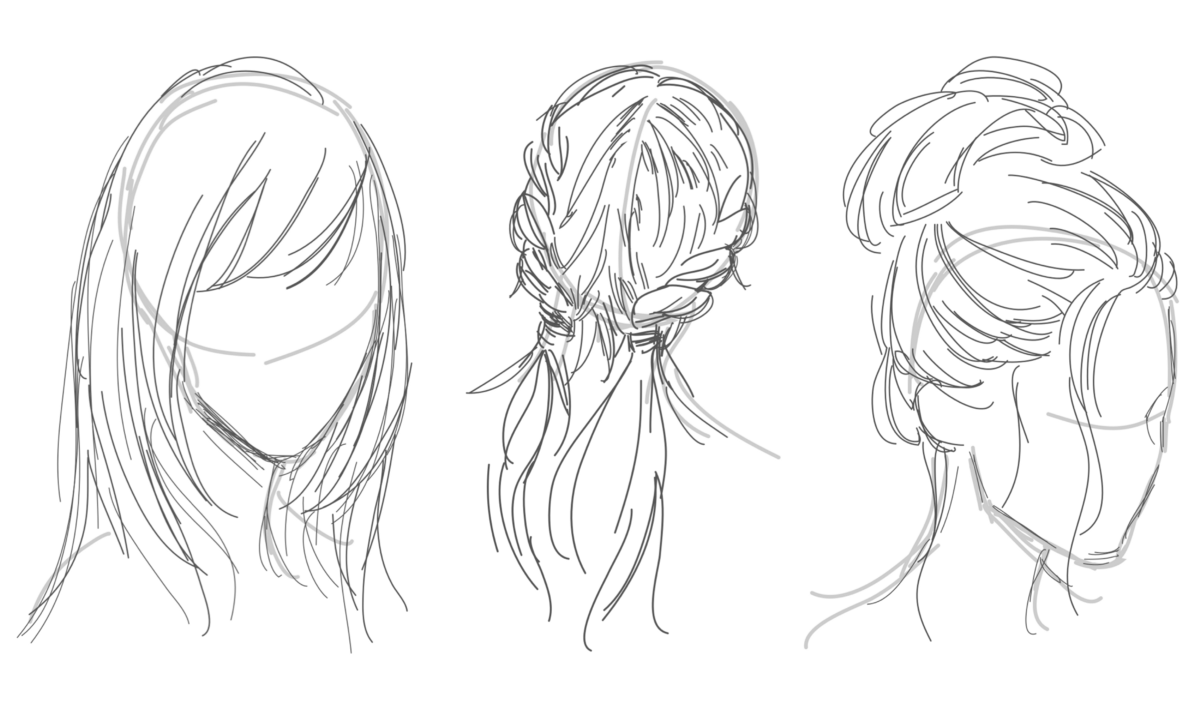 Learn How to Draw Hair With Your iPad and Apple Pencil