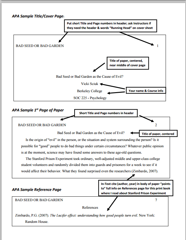 Formatting Academic Paper in APA Style   by PaperHacker   Medium