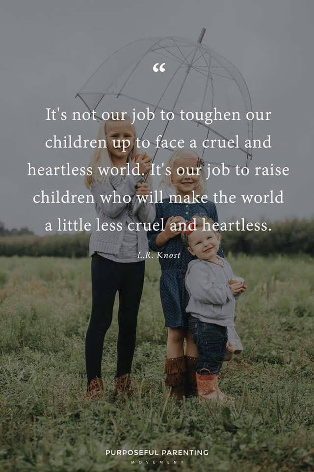 What Would Our Children Look Like : would, children, Really, Toughen, Kids?, Shannon, Ashley