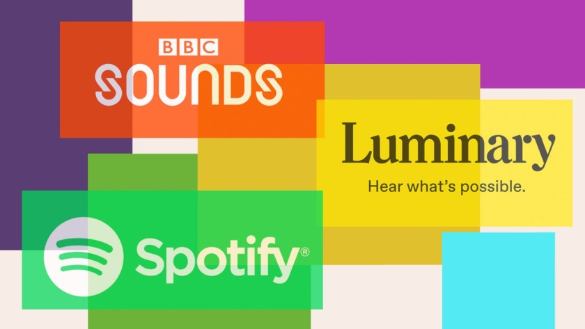 Sounds, Spotify and Luminary