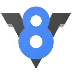 v8 was first designed to increase the performance of javascript execution inside web browsers in order to obtain speed v8 translates javascript code into  [ 1400 x 1400 Pixel ]
