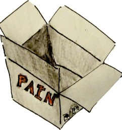 a box with pain inside [ 1400 x 1412 Pixel ]