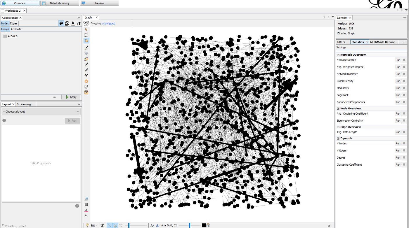 Twitter Network Analysis and Visualisation with Netlytic