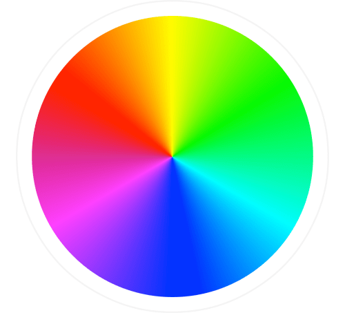 small resolution of this wheel is particularly useful for showing how the colours relate to each other and how you can create new colours by mixing two or more colours