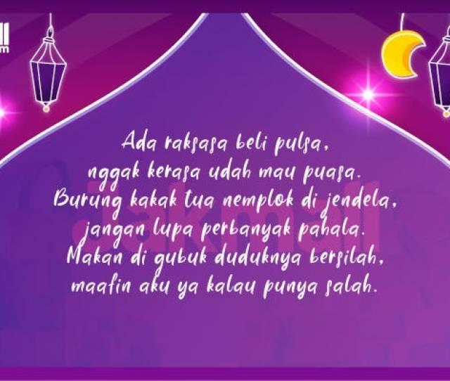 Ucapan Menyambut Ramadhan  Jakmall Com