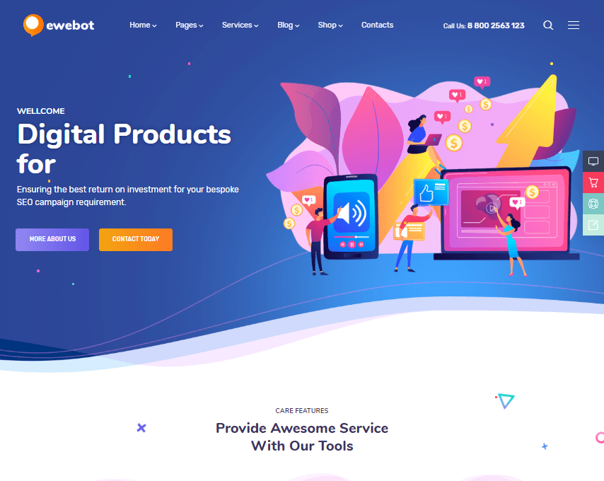 Its versatility makes it ideal for digital marketing agencies of various sizes and natures. 20 Marketing Website Templates For Your Business By Jan Limark Medium