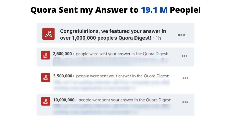 quora digest notification