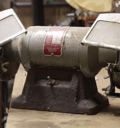 restoring a 47 year old bench grinder craftsman bench  [ 1280 x 720 Pixel ]