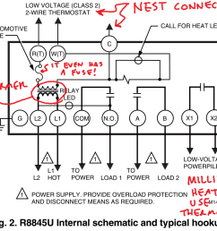 controlling an ancient millivolt heater with a nest modern gas heater wiring diagram connection [ 1116 x 871 Pixel ]