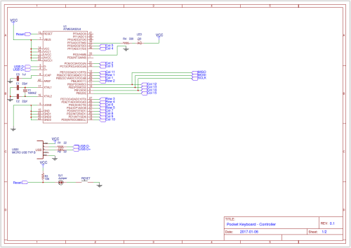 small resolution of i took the arduino pro micro schematic removed the 5v regulator and tx rx leds and mapped the gpio pins