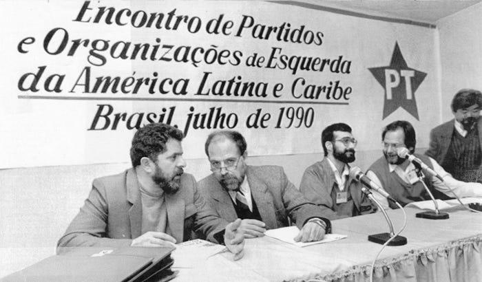 Resultado de imagen para Foro de Sao Paulo 1990