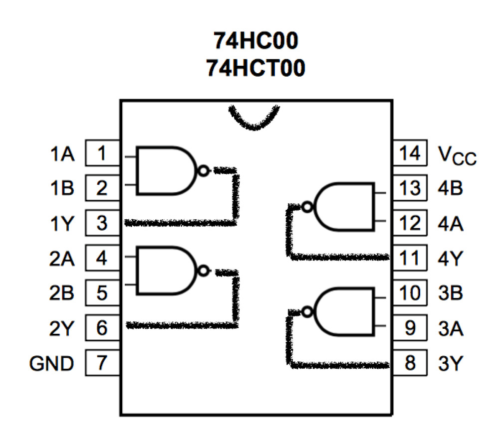 medium resolution of i soldered up four d latches