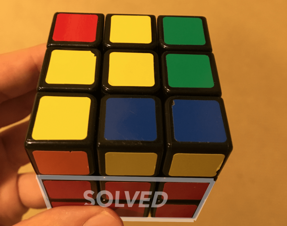 medium resolution of to solve the remaining part of the cube you must execute two classes of algorithms